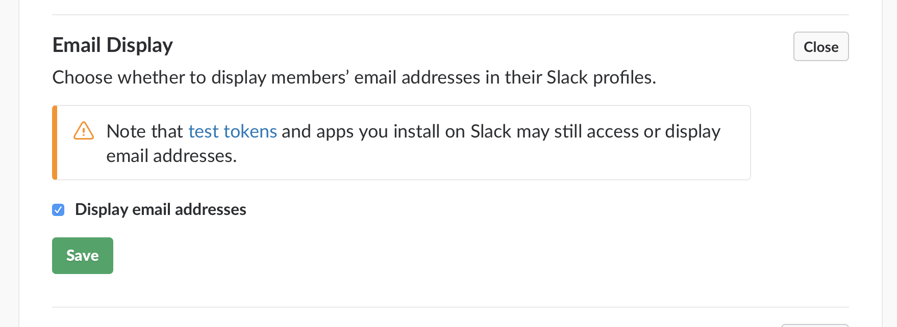 Display emails in Slack.