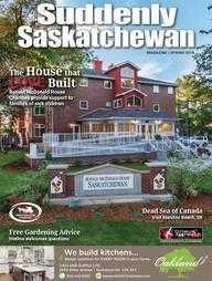 Suddenly Saskatchewan Magazine - Issue: Spring 2018