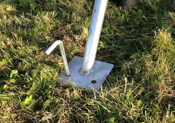 Fence Ground Pin