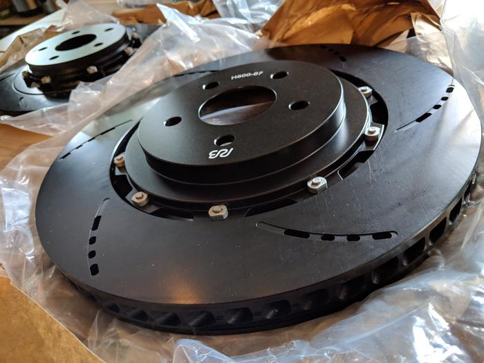 Ford RS Brake Upgrade