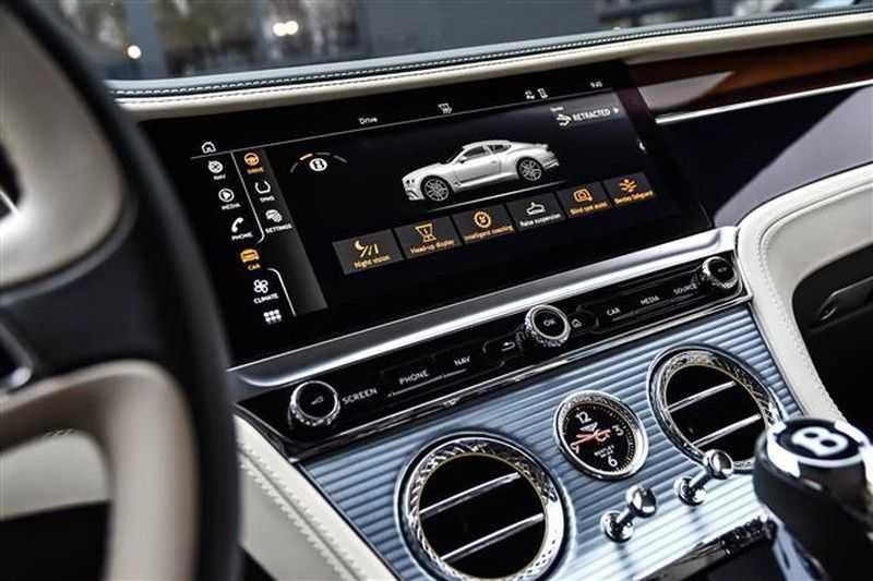 Bentley Continental GT W12 MULLINER MASSAGE+HEADUP+TOPVIEW afbeelding 2