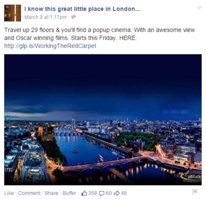 GLP Facebook Ad