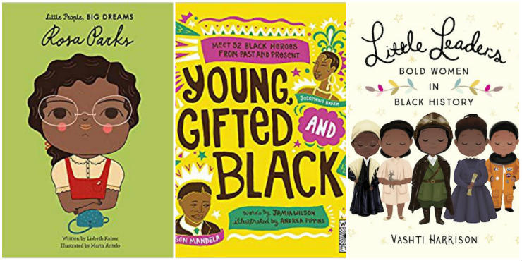 Little People, Big Dreams: Rosa Parks, Young, Gifted and Black, Little Leaders: Bold Women in Black History