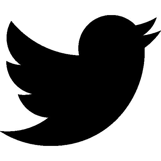 Twitter logo in black. Abre perfil de Perro Dinero en Twitter.