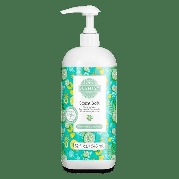 Aloe Water & Cucumber Scent Soft Fabric Softener