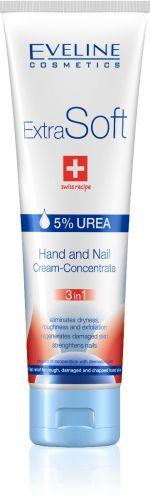 EVELINE ExtraSoft kéz- és körömápoló UREA 100 ml