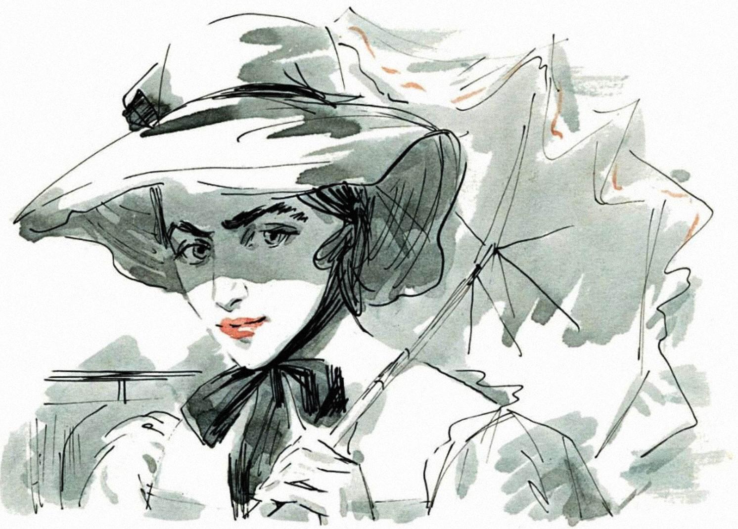 Иллюстрация ксборнику «Ася. Первая любовь. Вешние воды»