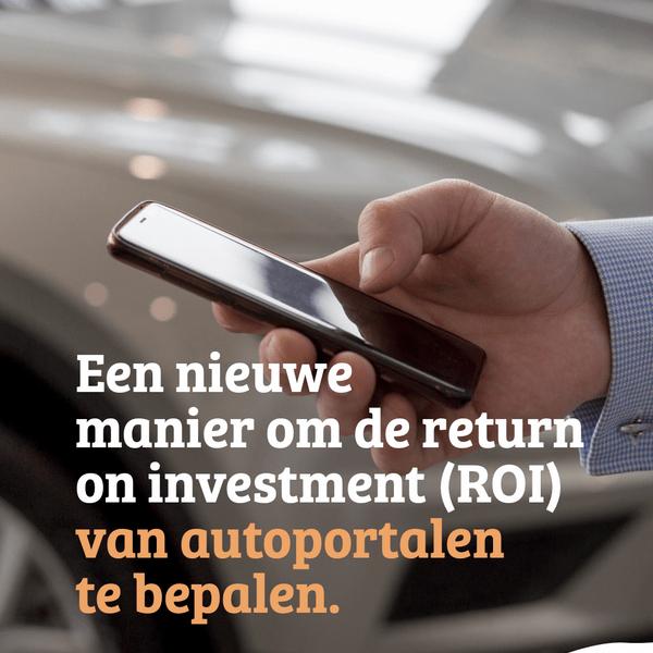 E-book: Een nieuwe manier om de return on investment (ROI) van autoportalen te bepalen