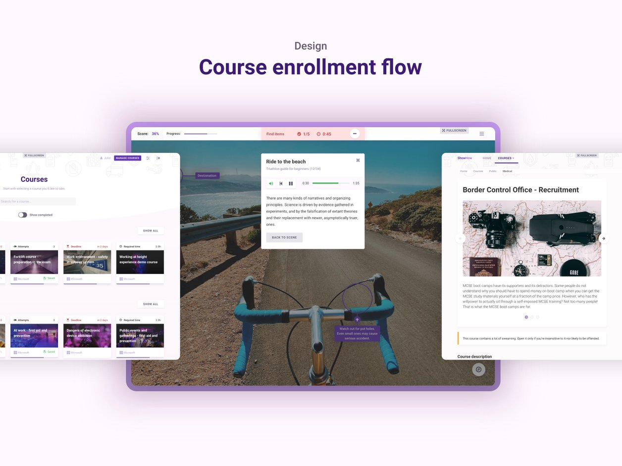 VR/AR Experience Design - UI Design | ShowHow