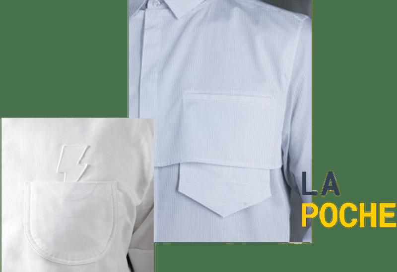Le détail choc : la poche sur un vêtement