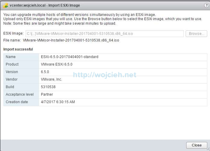 How to upgrade ESXi 6.0 to ESXi 6.5 using VMware Update Manager - 3
