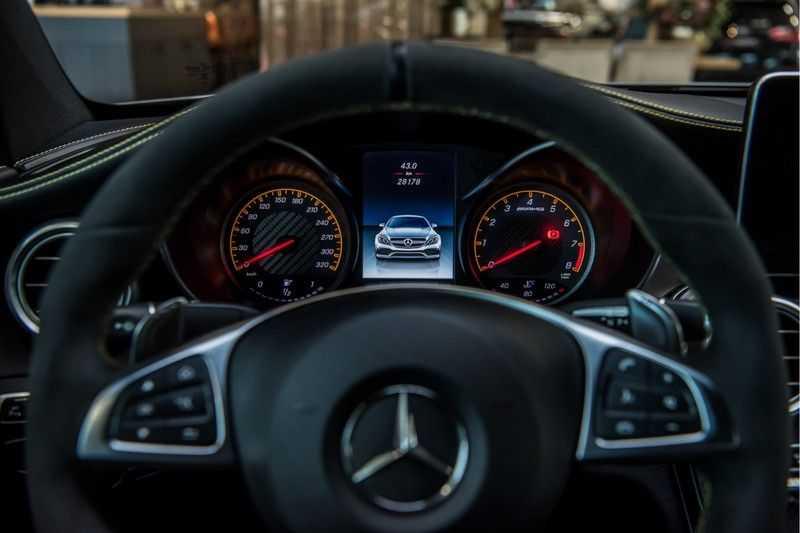 Mercedes-Benz C-Klasse Coupé 63 S AMG Edition 1 Yellow   Keramiek   HUD afbeelding 17