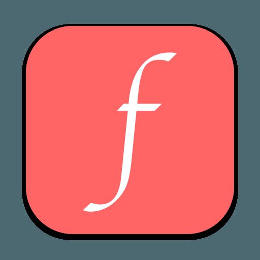 Font Adjuster app icon.