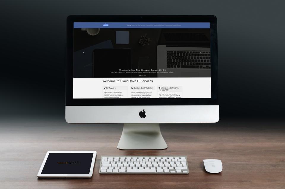 CloudDrive IT Services Website