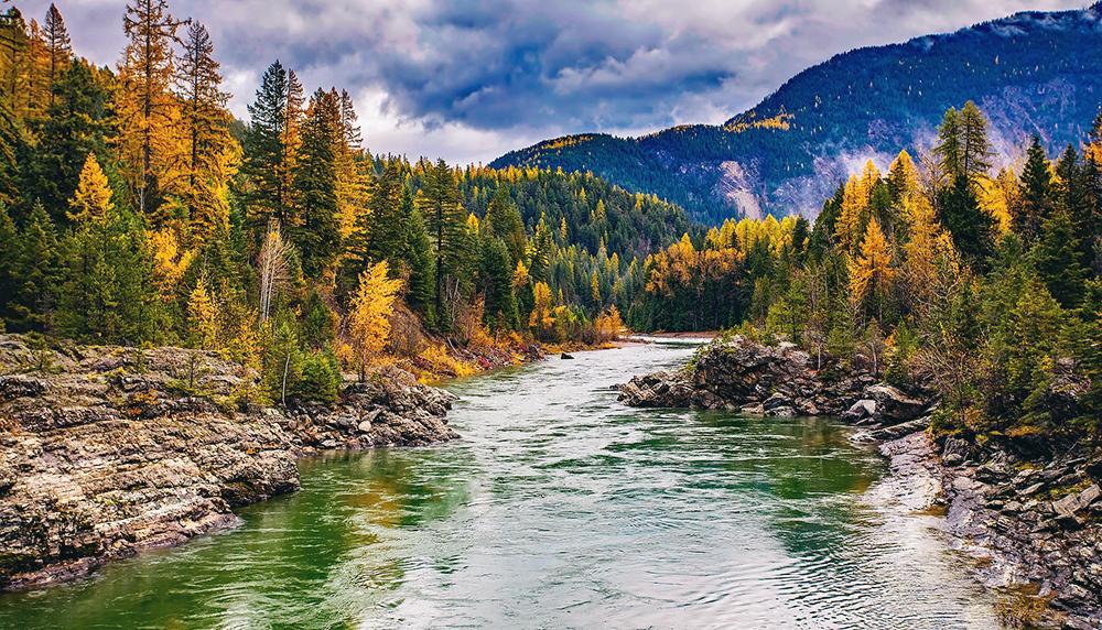 Montana western rivers
