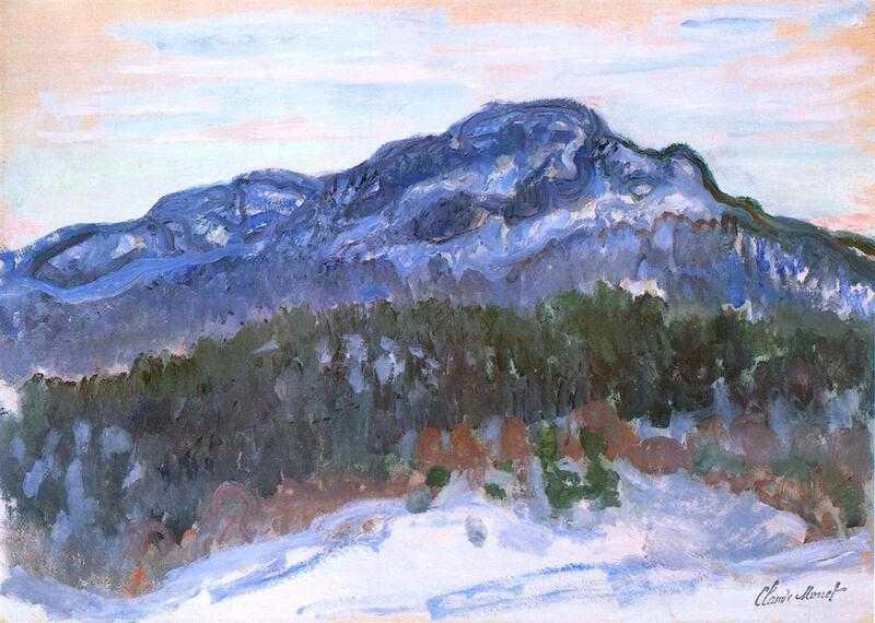 'Mount Kolsaas' by Claude Monet (1895)