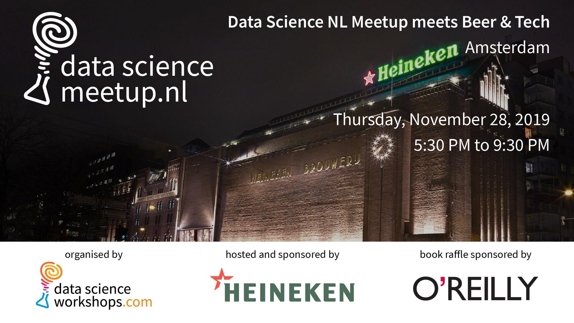Data Science NL Meetup meets Beer & Tech