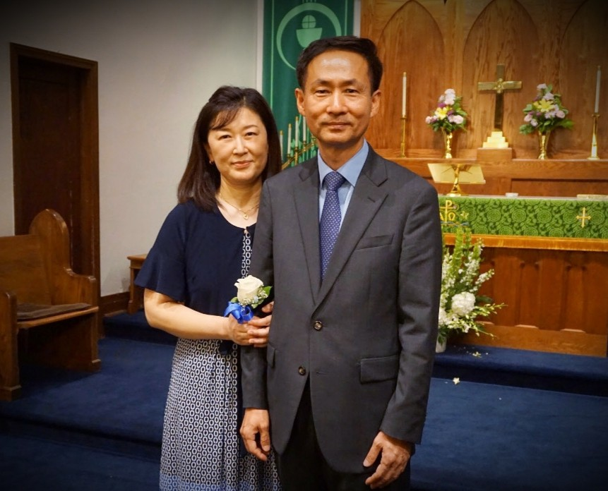Pastor and Wife Image