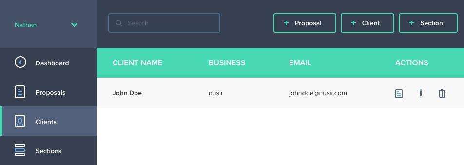 Client Index