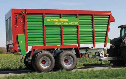 Häcksel-Transportwagen