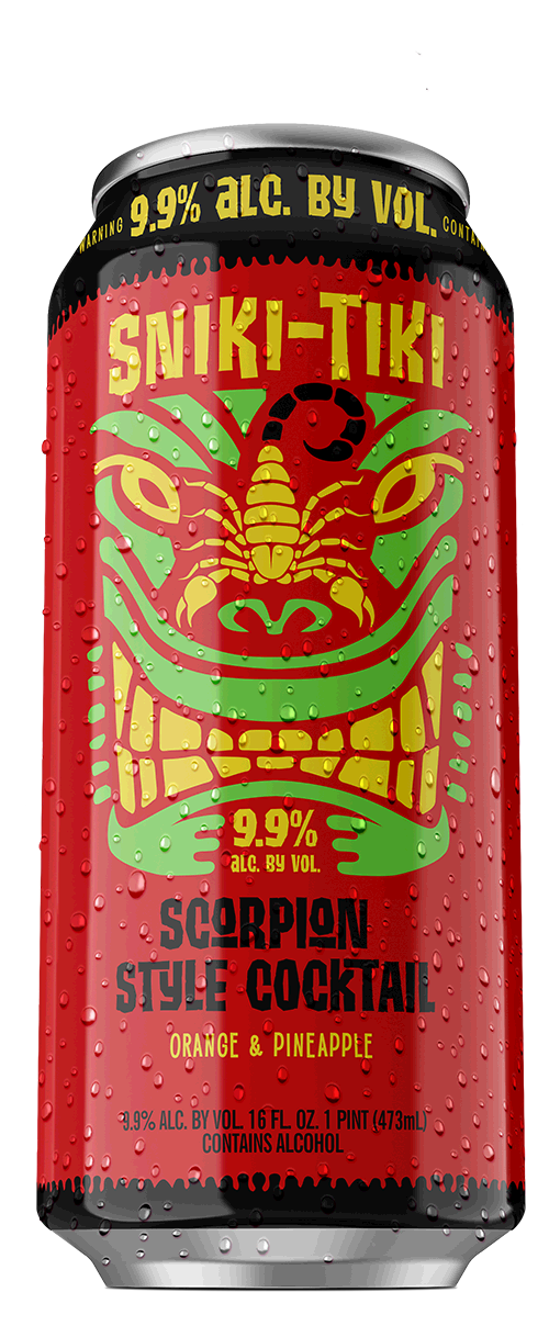 Scorpion Style Cocktail