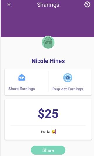 Set the amount