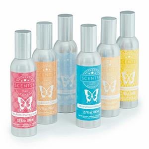 6 Room Sprays