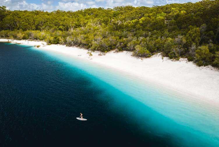 Noosa via Fraser Island