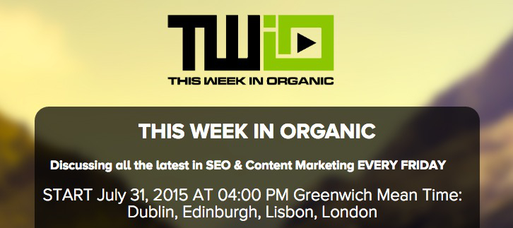 """Watch us on """"This Week in Organic"""" (Updated)"""