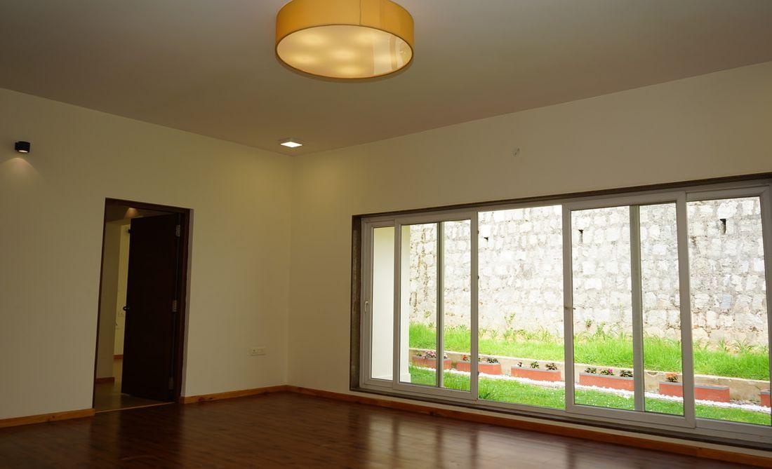 Living room at Bournville, Brooklands