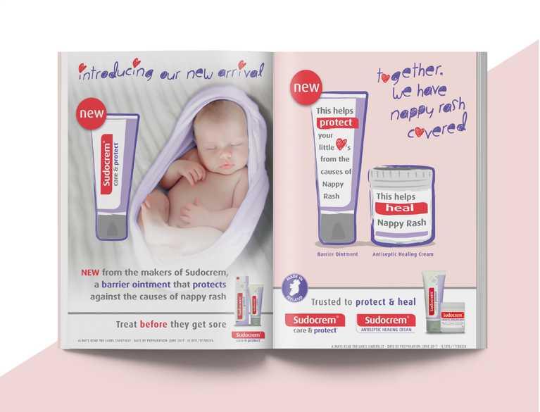 print advertisement for sudocrem