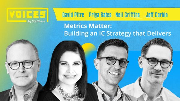 Metrics Matter: Building an IC Strategy that Deliver