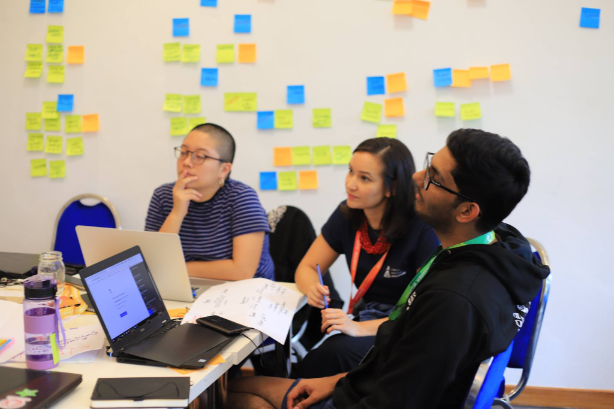 Change the world with tech? These teams got it pitch-perfect