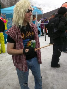 Noles, Pants, and Fizz performing No Sleep Till Brooklyn at the 2018 80s Day at Loon Mountain with Fast Times Boston