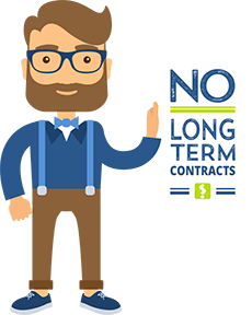 No Long-Term Contracts