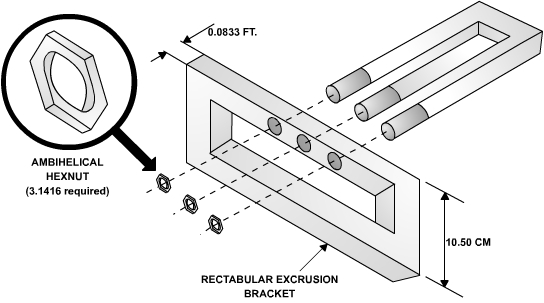 Rectabular Excrusion Bracket