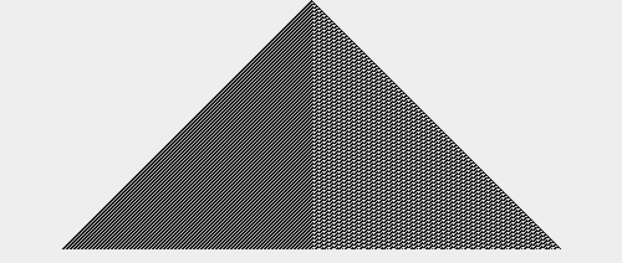 Wolfram Elementary Cellular Automaton