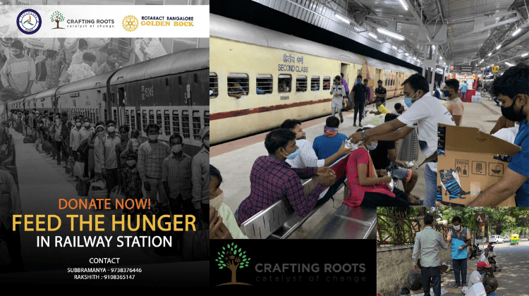 Donate Now! FEED the HUNGER via CRAFTING ROOTS