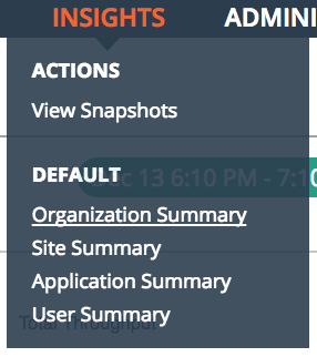 Insights Applications