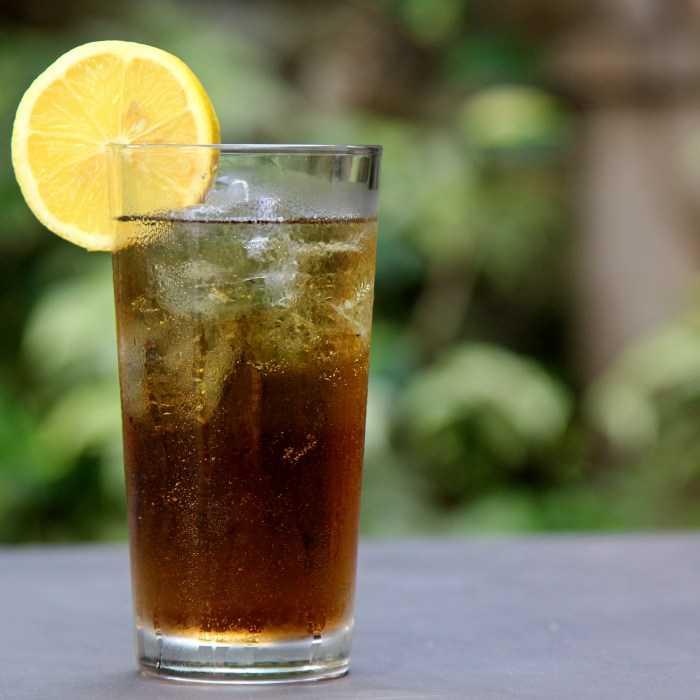 3-Mile Long Island Iced Tea Cocktail