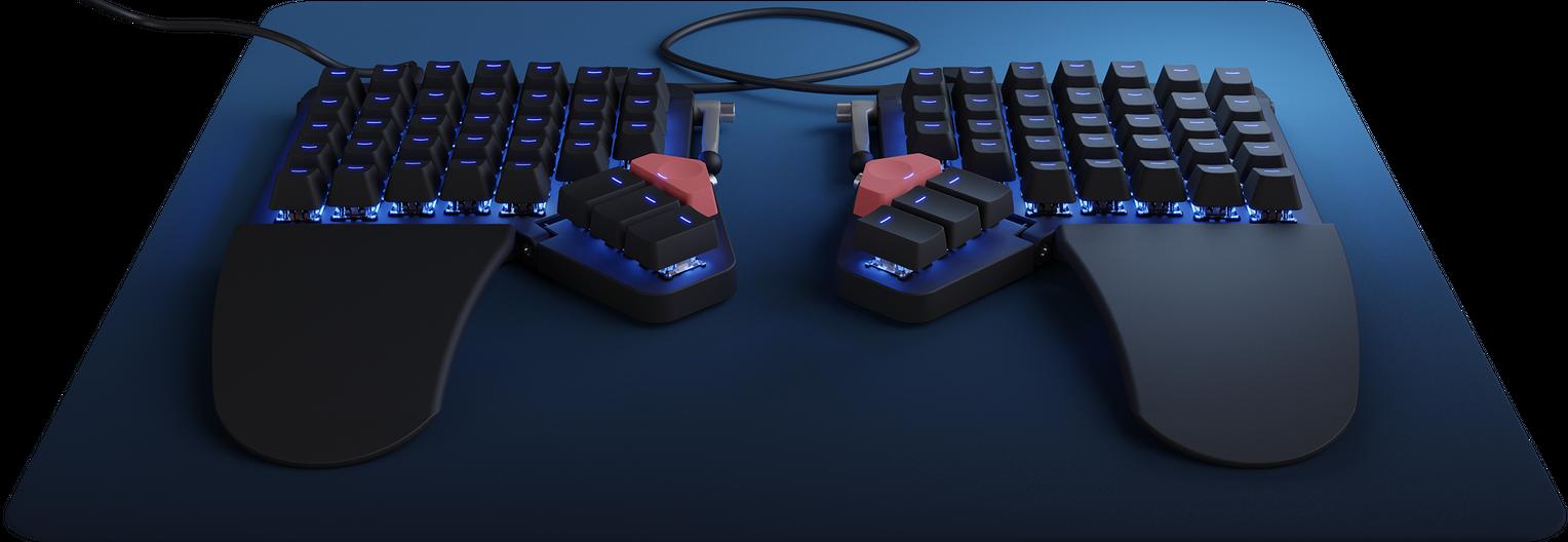 Moonlander Mark I Keyboard Blank Black Color
