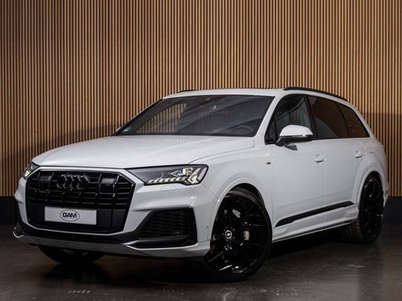 """Audi Q7 55 TFSI e quattro S-line 23"""",PANO,B&O"""
