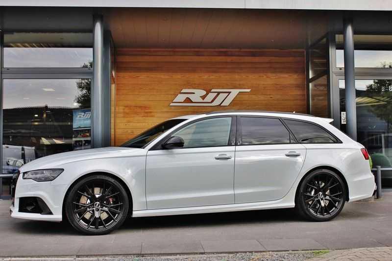 Audi RS6 4.0 V8 605pk Performance Quattro **Pan.dak/HUD/ACC/Camera/Carbon** afbeelding 3