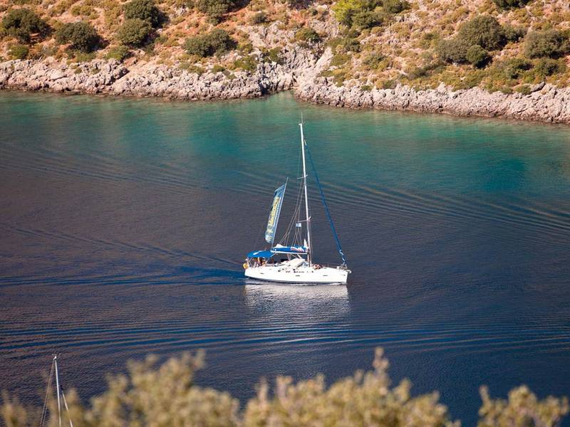 Sailing Turkey won't leave you blue