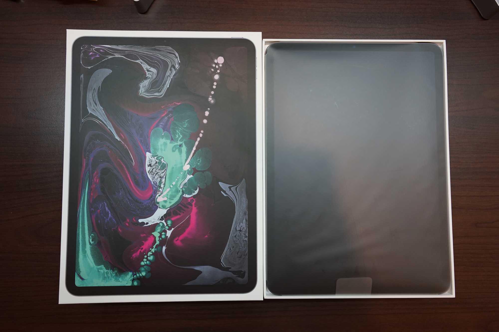 iPad Pro 11-inch Inside the box
