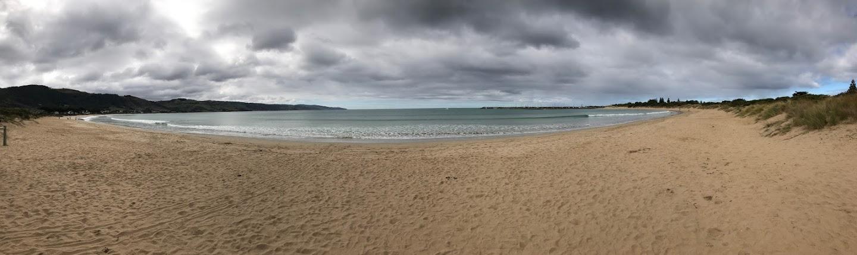 大洋路上的海滩