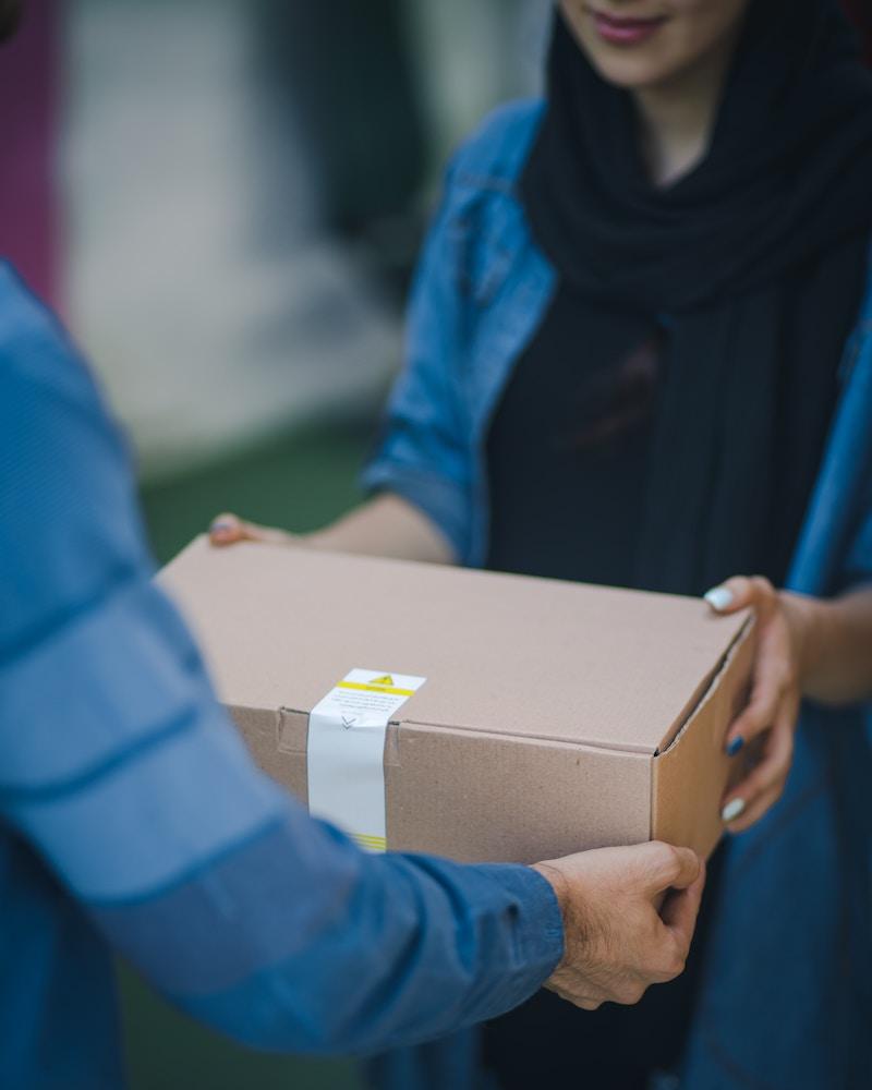 entrega paquete