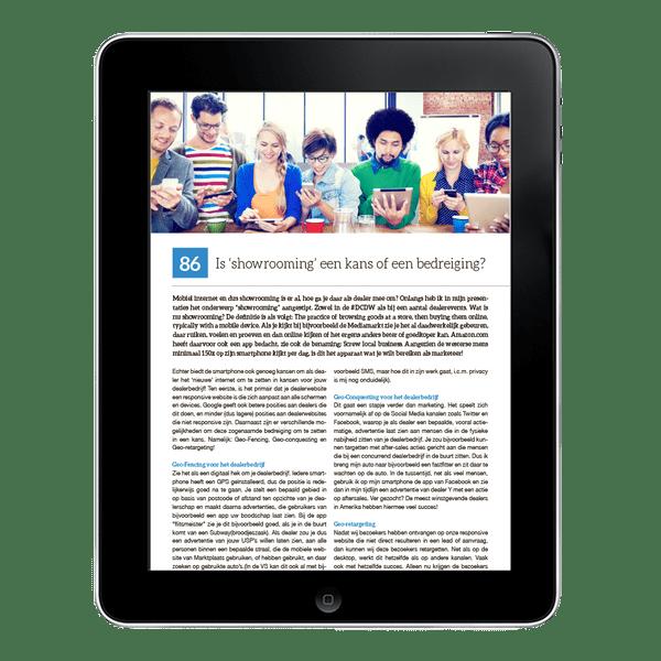 E-boek: 'LEAD THE WAY, op de digitale snelweg'