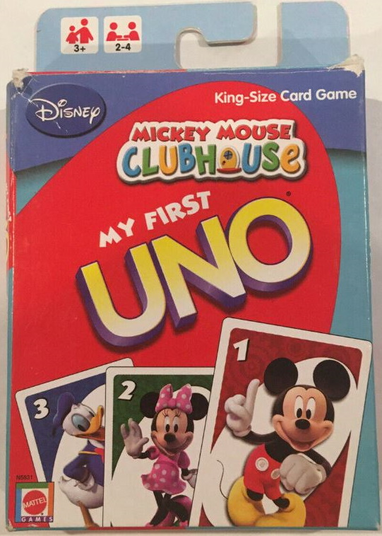 Mickey Mouse Clubhouse My First Uno