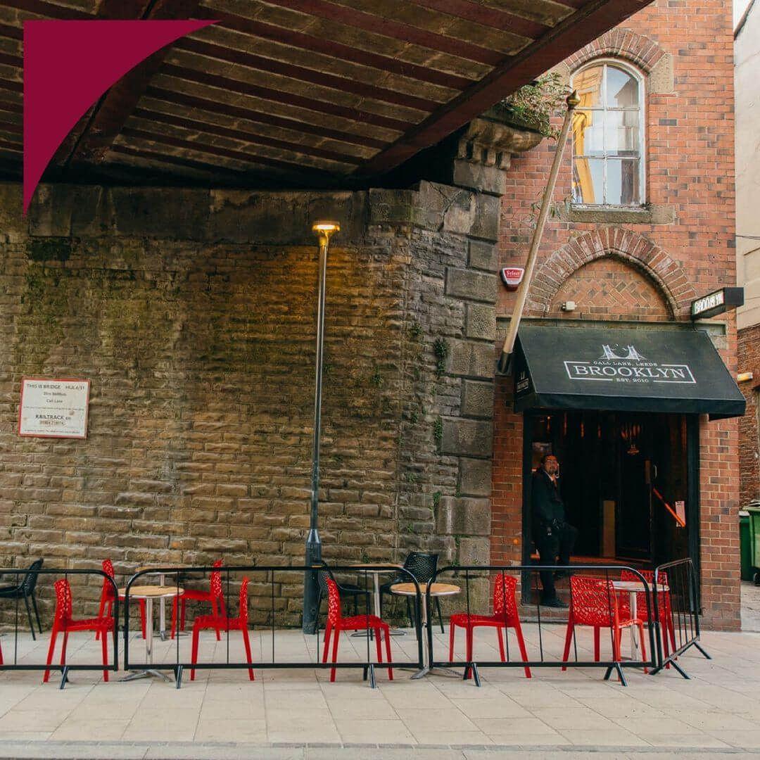 Brooklyn Bar - Call Lane - Outside seating